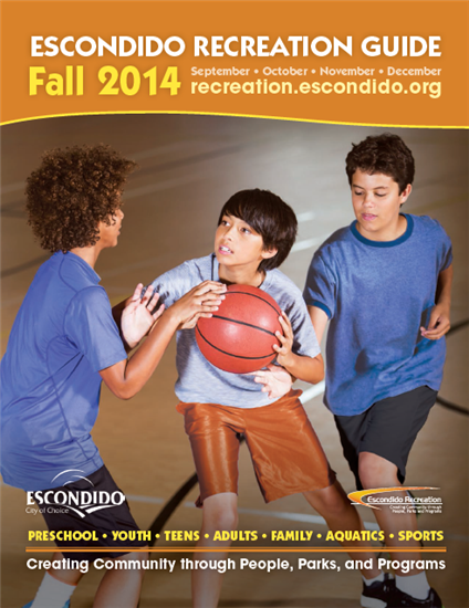 Escondido Recreation Online Registration