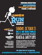 View the Pumpkin Run flyer