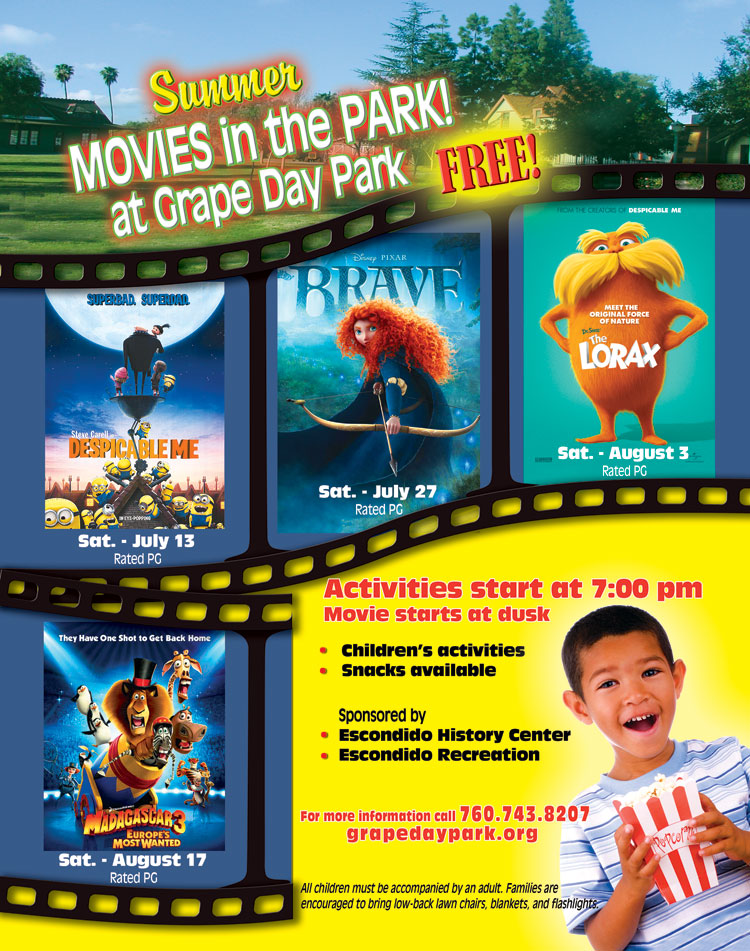 Movie times in escondido ca